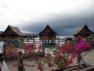 The villas of Sipadan Resort
